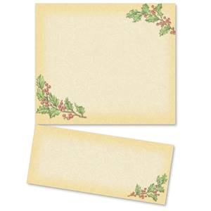 Vintage Holly LetterTop Certificates