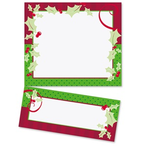 Holiday Flair LetterTop Certificates