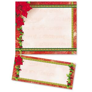 Poinsettia Melody LetterTop Certificates