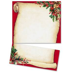 Christmas Scroll LetterTop Certificates