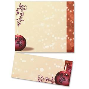 Cranberry Lights LetterTop Certificates