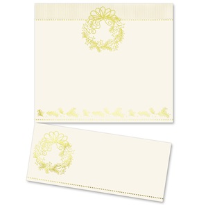 Gilded Wreath Specialty LetterTop Certificates
