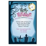 Haunted Cemetery Party Invitations