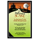 Haunted Hill Party Invitations