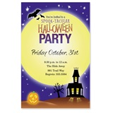 Spooky House Party Invitations