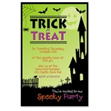 Spooky Lane Party Invitations