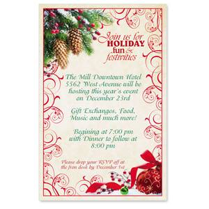 Ruby Wishes Party Invitations