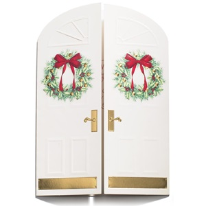 Holiday doorway boxed holiday greeting cards paperdirects holiday doorway boxed holiday greeting cards m4hsunfo