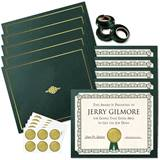 Impressions Gold/Hunter Green Certificate Bundles