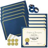 Deluxe Classic Gold on Cream Certificate Bundles