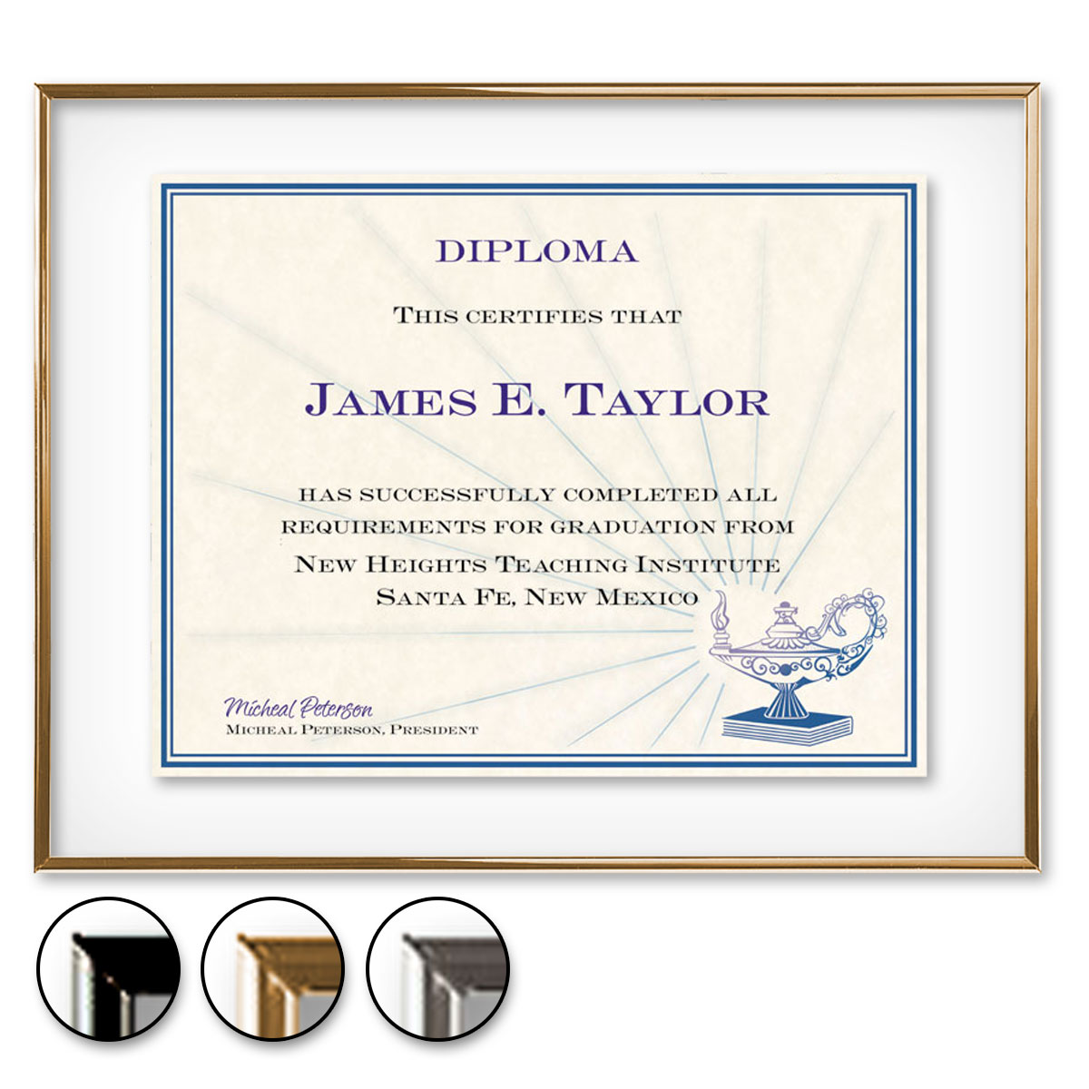 Glass floating certificate frames paperdirects xflitez Choice Image