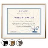 Glass Floating Certificate Frames
