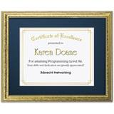 Speckled Gold Large Certificate Frames