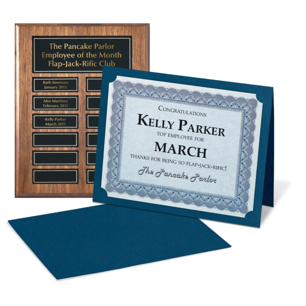 employee of the month kit | paperdirect's