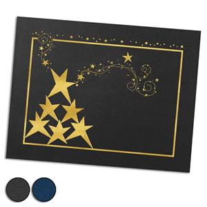Reach for the Stars Gold Foil-Stamped Certificate Jackets