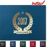 2017 Gold Foil-Stamped Certificate Jackets
