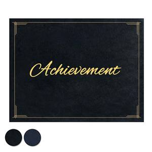 Achievement Certificate Jacket - Black