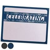 Celebrating Laser-Cut Certificate Set - Vertical