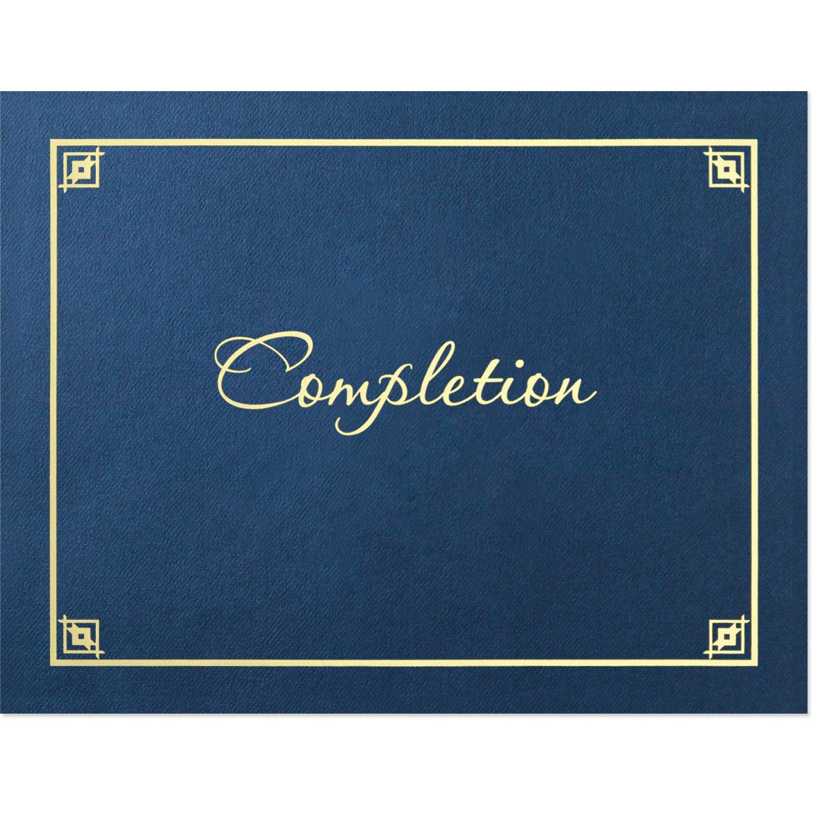 Completion Certificate Jackets