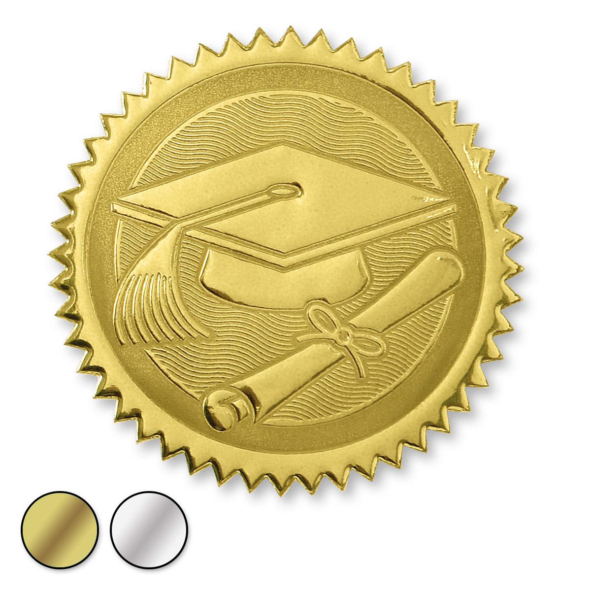 Certificate Seals Embossed Designs Paperdirects