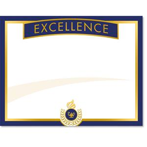 Excellence Certificates