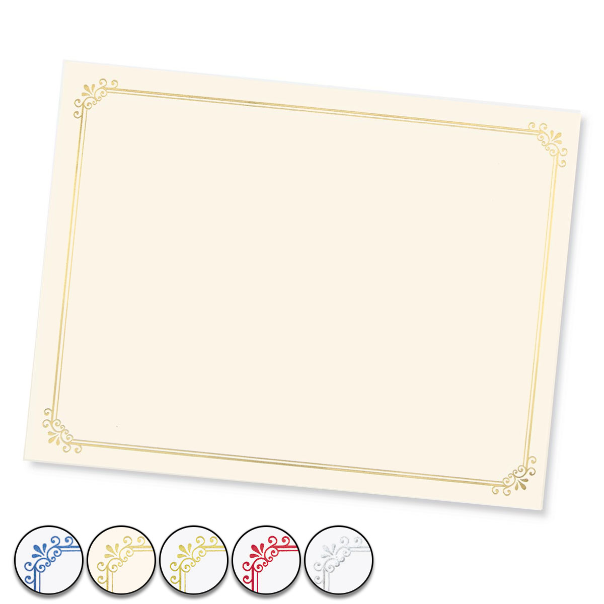 simple border specialty certificates paperdirect s