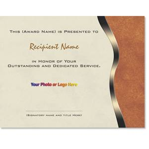 Leather Modern Certificates