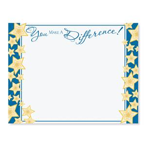 You Make a Difference Casual Certificates