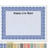 Employee of the Month Traditional Certificates