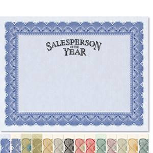 Salesperson of the Year Traditional Certificates