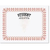 student of the month illustrious certificates paperdirect s