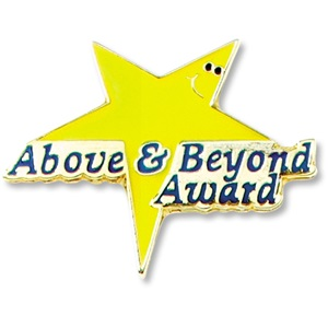 Above and Beyond II Pin