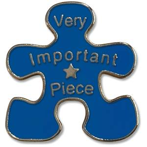 Very Importance Piece Pin