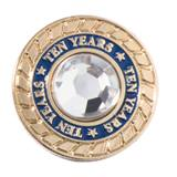 10 Years of Service Class Ring Pin