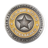 Celebrating Excellence Star Pin