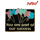 Appreciation Award Pin - You Are Part of Our Success