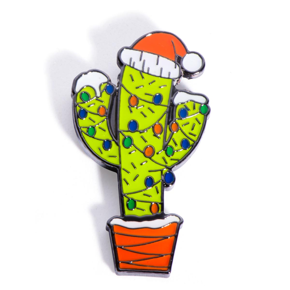 Christmas Cactus Holiday Lapel Pin | PaperDirect\'s
