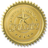 Quality Embossed Gold Foil Seals