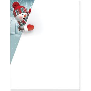 Frosty Charm Border Papers