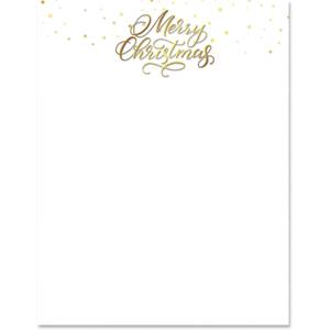 Christmas Dazzle Border Papers