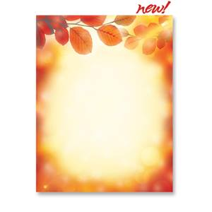 Harvest Glow Border Papers
