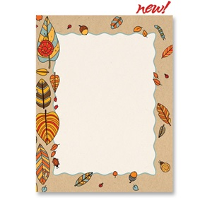 Caterpillar Harvest Border Papers