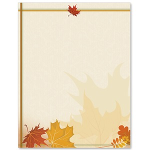 Fall Tones Border Papers