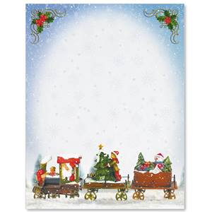 Holiday Train Border Papers
