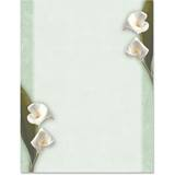 Calla Lilies Border Papers