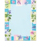 Sweet Pea Border Papers