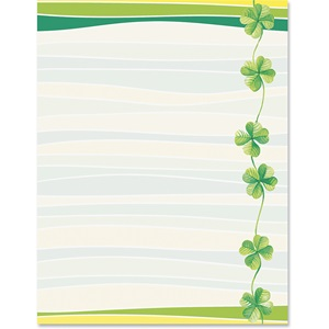Lucky Clover Border Papers