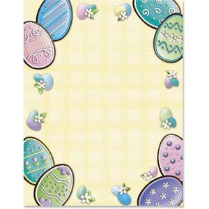 Easter Cookies Border Papers