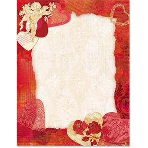 Romantic Delight Border Papers