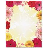 Dancing Daisies Border Papers